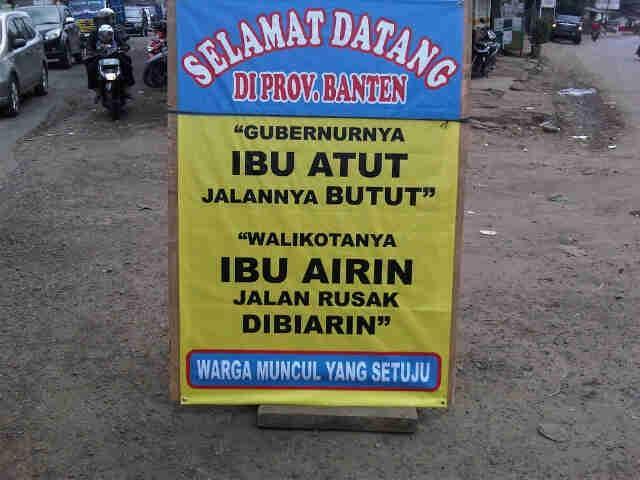 Selamat Datang di Provinsi Banten