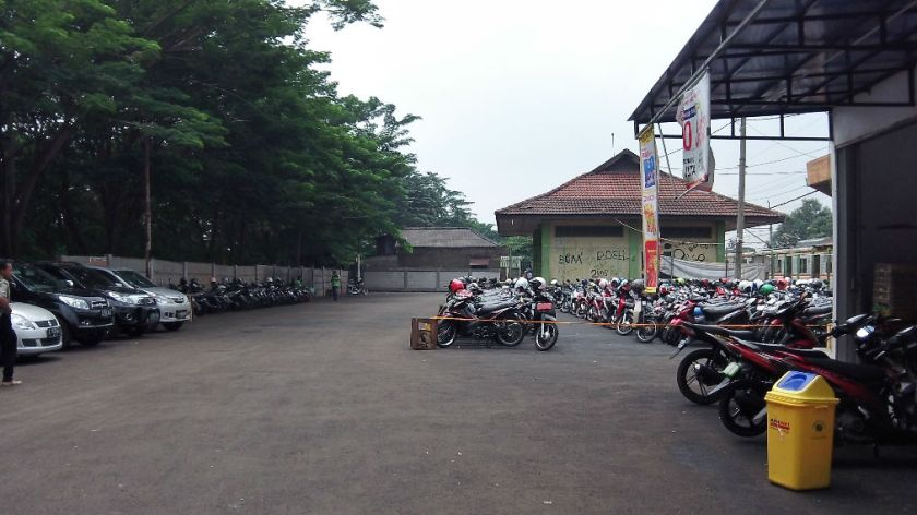 Stasiun Pondok Ranji-2