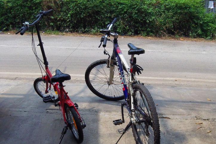 2 Bicycles 1 Rider