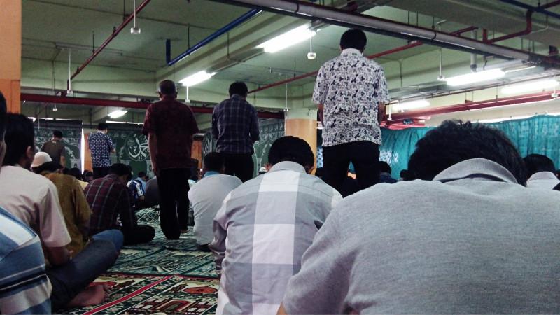 Jumatan di Grand Indonesia