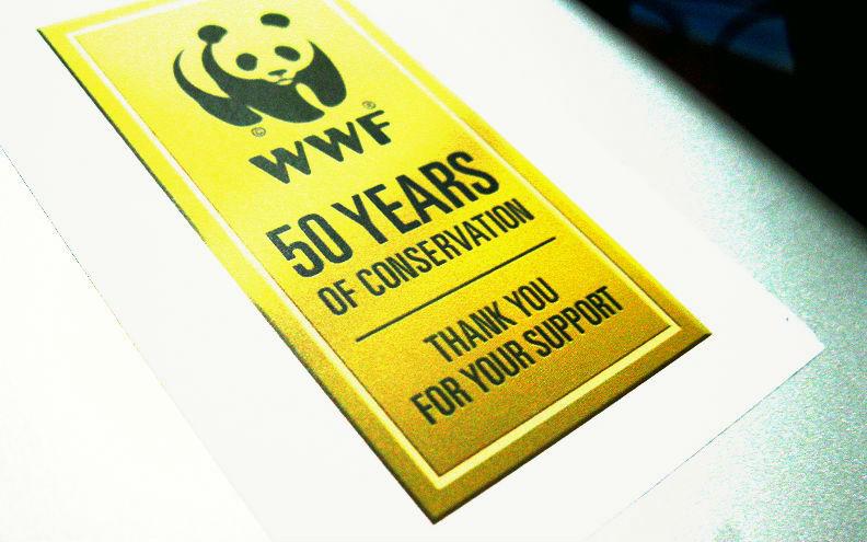 Stiker WWF