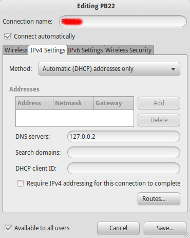 DNS Network Manager
