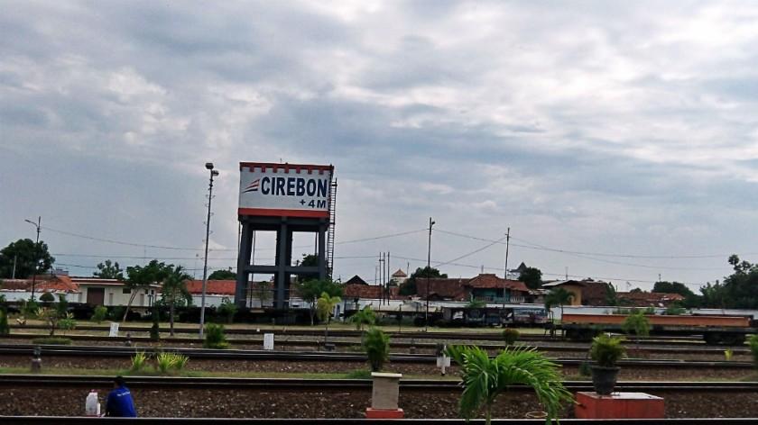 Pertama kali di Stasiun Cirebon