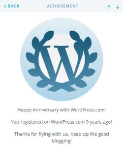 9 tahun ngeblog