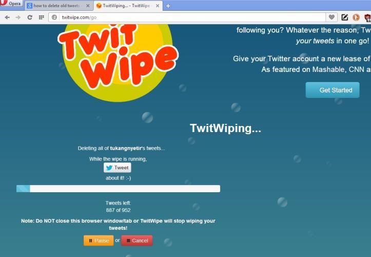 Twit Wipe
